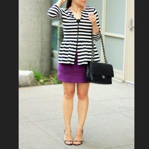 HOST PICK! Stripe peplum jacket